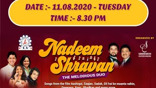 NADEEM SHRAVAN | THE MELODIOUS DUO I 35 MUSICIANS I SIDDHARTH ENTERTAINERS
