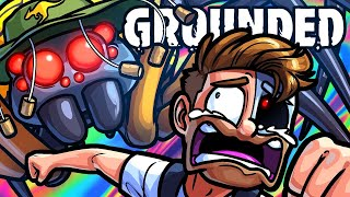 Grounded Funny Moments - Run Away From the Evil Spiders!