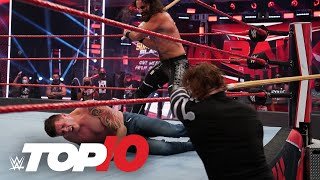 Top 10 Raw moments: WWE Top 10, Aug. 10, 2020