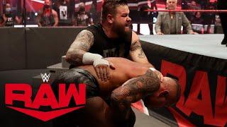 Kevin Owens vs. Randy Orton: Raw, Aug. 10, 2020