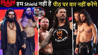 Seth Rollins in Raw Underground - WWE Shield Break Up Example BIG E | Indus Sher Tag Team Champions