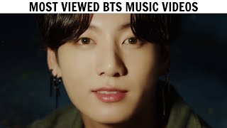 [TOP 60] Most Viewed BTS Music Videos   August 2020