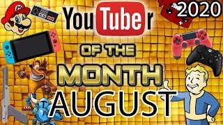 YouTuber Of The Month August 2020 | Gaming Off The Grid