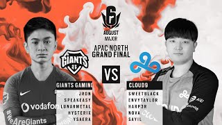 Giants Gaming vs Cloud9 // APAC Six August 2020 Major – North Division Grand Final