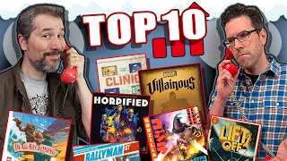 Top 10 Board Games Gaining Popularity | August 2020