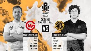 Wildcard Gaming vs Pittsburgh Knights // APAC Six August 2020 Major – Oceanic Grand Final