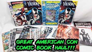 Comic Book Haul from the Great American Comic Con 2019!