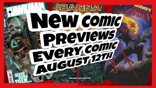 New Comics August 12th 2020 Previews Every Comic Book And Publisher GIVEAWAY VIDEO Great Speculation