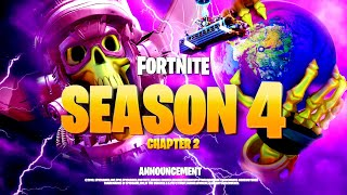 *NEW* FORTNITE SEASON 4 FINAL EVENT UPDATE! ALL MAP CHANGES & LEAKS!: BR