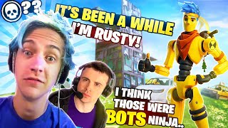 GETTING BACK TO FORTNITE WITH DRLUPO! WHAT IS EVEN HAPPENING!?