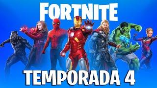 *TEMPORADA 4* Fortnite Lo Que NECESITAS SABER, Secretos & Filtraciones!!!
