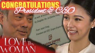 Ang itinalaga bilang CEO & President   Love Thy Woman Fan Made Teaser August 14, 2020