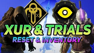 XUR August 14 2020 Where is XUR? | Destiny 2 | XUR Location & Inventory Trials Reset Gear/Map LIVE
