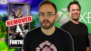 Fortnite REMOVED By Apple & Google As Epic Sues And Phil Spencer Talks Nintendo | News Wave