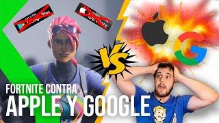 FORTNITE CONTRA APPLE Y GOOGLE: EPIC GAMES declara la guerra a la App Store