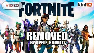 Fortnite removed by Apple, Google from app stores