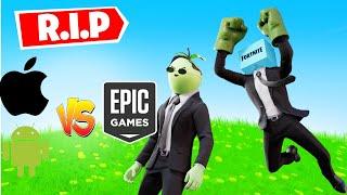 R.I.P Fortnite en iOS(iPhone/iPad) 😭Epic Games Vs Apple y Google