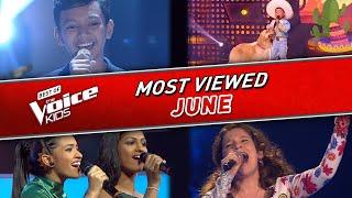 TOP 10   The Voice Kids: TRENDING IN JUNE 2020