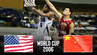 USA 🇺🇸 v China 🇨🇳   Classic Full Game   FIBA World Cup 2006