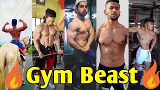 🔥Most Popular Gym Beast Viral Tiktok Videos 2020🔥|💪 Gym Lover💪 | Workout Tiktok | Tiktok  Star #85