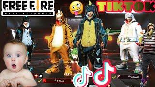 FREE FIRE ON TIKTOK !! FREE FIRE TIKTOK VIDEO !! BEST FREE FIRE FUNNY MOMENTS  PART-50 !Ft. sk sabir
