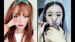 [OMG] Makeup vs No Makeup 💄 화장 전후 비교 👄 Makeup beauty magical ❤️ ماكياج الجمال السحري