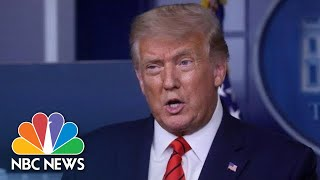 Trump Holds News Conference At White House | NBC News