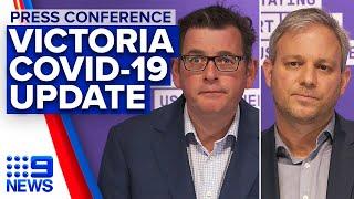 Coronavirus: Victorian premier provides COVID-19 update | 9News Australia