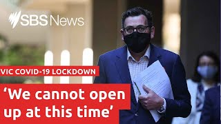 COVID-19 update: Victoria Premier Daniel Andrews is live I SBS News