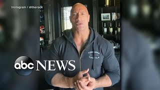 Dwayne 'The Rock' Johnson reveals family tested positive for COVID-19