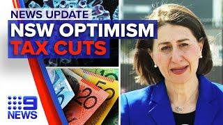 Update: NSW optimistic COVID-19 progress, possible income tax cuts | 9 News Australia