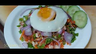 TIPS -SALAD IMPERIAL AND VEGETABLES RICE COOKING EXCELLENT NEWS..