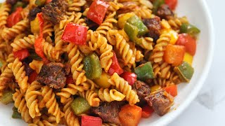 The BEST BEEF PASTA Recipe | You Have To Try It!