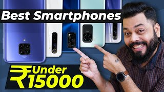 Top 5 Best Mobile Phones Under ₹15000 Budget ⚡⚡⚡ September 2020