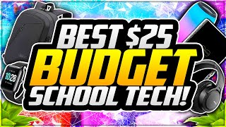 Best BUDGET School Tech Under $25! | Back to School Tech 2020