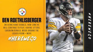 Press Conference (Sept. 9): Ben Roethlisberger | Pittsburgh Steelers Week 1 vs. Giants