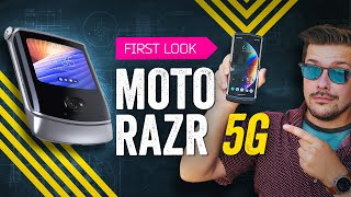 Motorola Razr 5G: A Sharp Folding Phone Reboot For 2020 [Hands-On]
