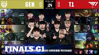 T1 vs GEN - Game 1 | Finals 2020 Worlds Regional Qualifier | T1 vs Gen.G G1