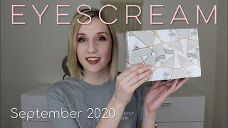 EYESCREAM Beauty Box   September 2020