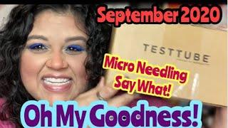 Test Tube Beauty   Unboxing September 2020