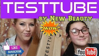 Testtube by New Beauty September 2020 unboxing!  OMG 😲 Amazing!
