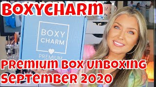 September 2020 Boxycharm Premium Box Unboxing | HOT MESS MOMMA MD