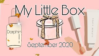 My little Box September 2020🍁   MEGA Wert😱 Darphin Serum, Fenty Beauty