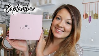 GLOSSYBOX SEPTEMBER 2020 UNBOXING & DISCOUNT CODE | Sammy Louise