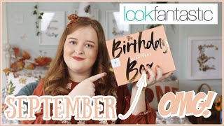 Look Fantastic September 2020 Beauty Box Unboxing (Birthday Edition) | Fashioneyesta