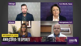COVID-19 Update for September 23, 2020