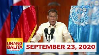 Unang Balita sa Unang Hirit: September 23, 2020 [HD]