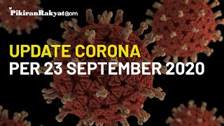 BREAKING NEWS: Update Corona Indonesia per 23 September, Bertambah Lagi 4.465 Positif dalam Sehari