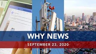 UNTV: Why News | September 23, 2020