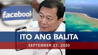 UNTV: Ito Ang Balita | September 23, 2020